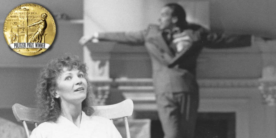Joan Allen and Peter Friedman in The Heidi Chronicles by Wendy Wasserstein