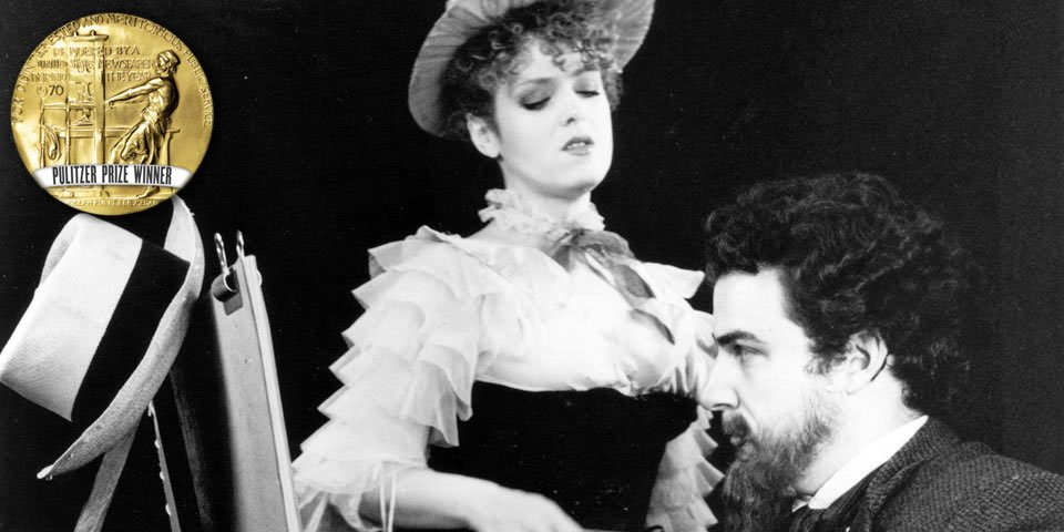 Bernadette Peters and Mandy Patinkin in Sunday in the Park with George by Stephen Sondheim and James Lapine