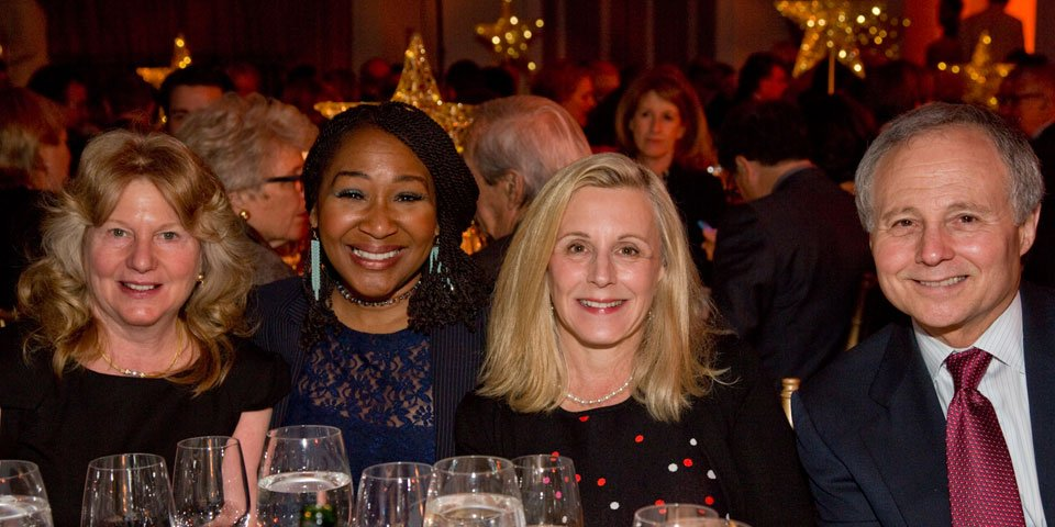 Karen Adler, Andrea Frierson, Gala Patron Chair Alyson Adler, and Ed Adler.