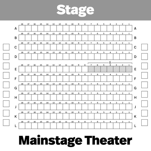 Seating Charts  Playwrights Horizons