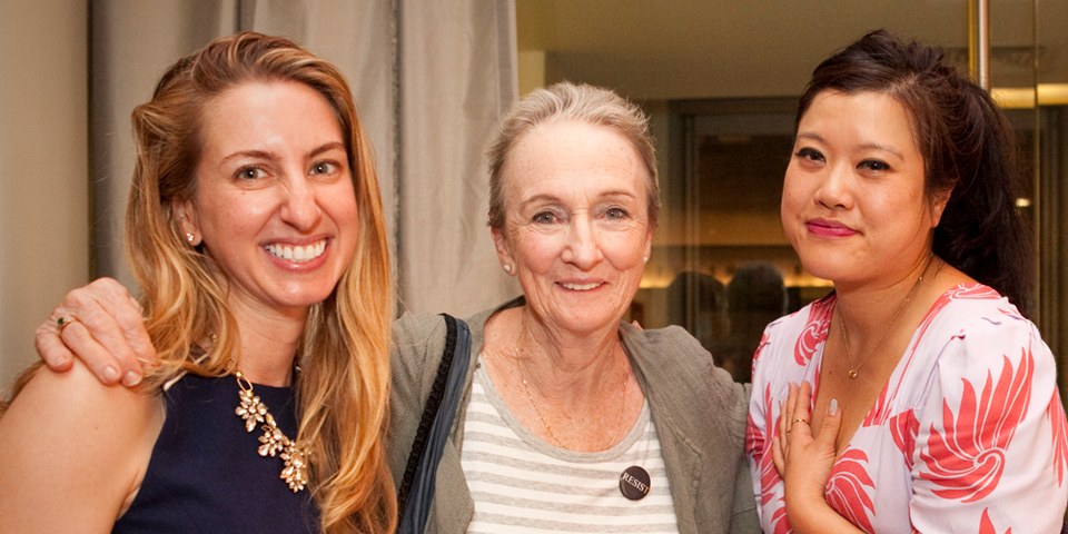 Gen PH member Elana Propis, Kathleen Chalfant, and guest Jojo Mu (photo by Chasi Annexy Photography).