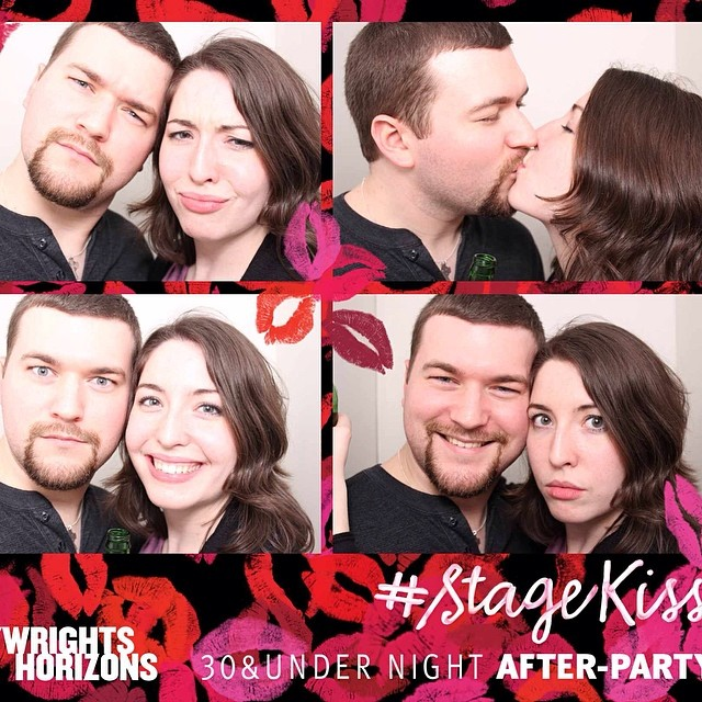 \U0001f48b #StageKiss #afterparty #photobooth #PlaywrightsHorizons #latergram @phnyc