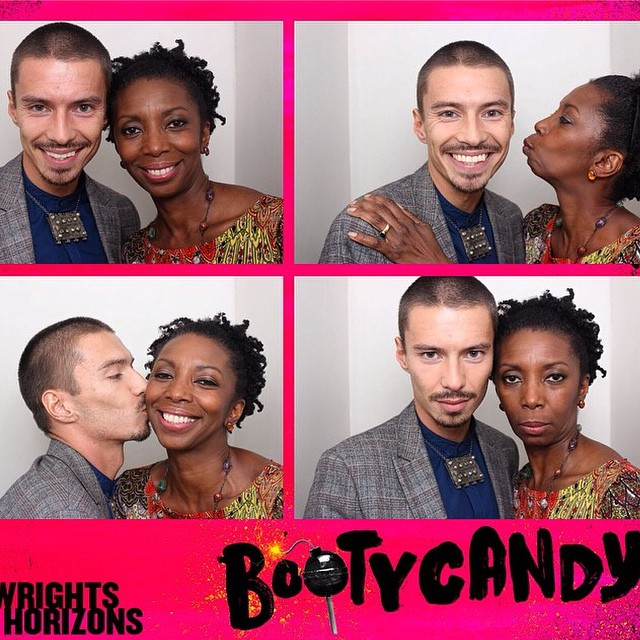 #bootycandy #playwrightshorizons #openingnight with @geecheegal