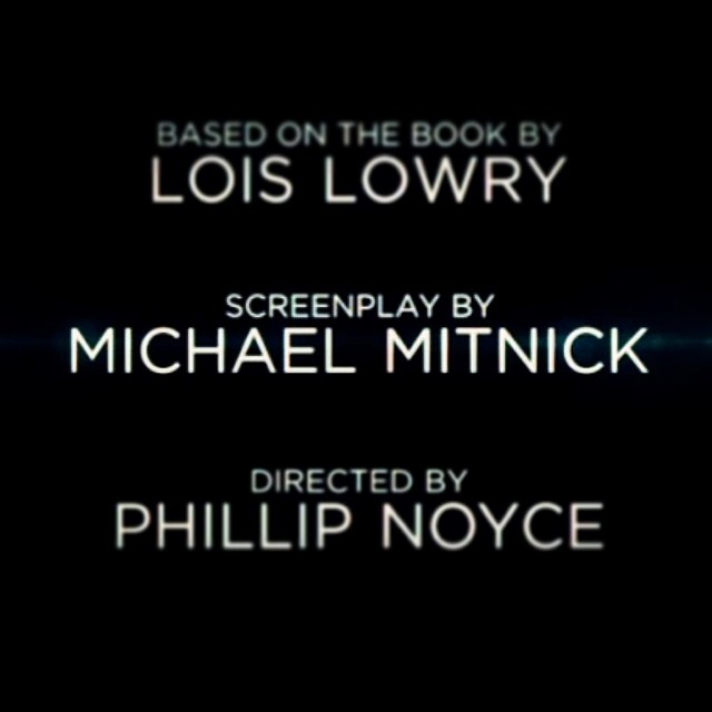 Getting excited about @thegivermovie this summer, with screenplay by #flybynightph co-author @michaelmitnick!