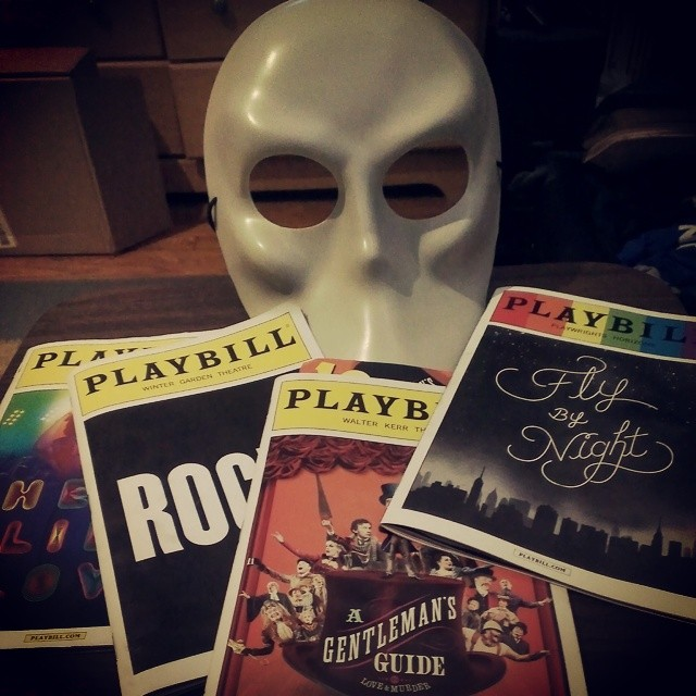 And with that, my 2014 #NYC #theater weekend is over! A day and a half left in town full of friends and fun, but no more shows.