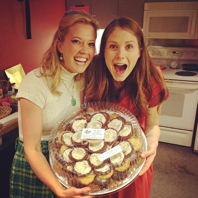 A delicious surprise from a fantastic fan! @allisoncase and I love our Schmackary's! #flybynightPH