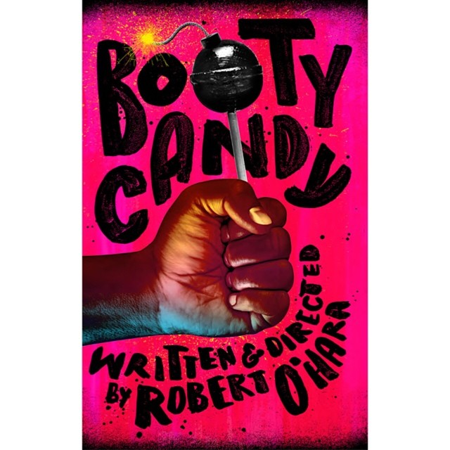 Your first taste of #Bootycandy, written & directed by Robert O'Hara. Kicking off 14/15 season with a bang! \U0001f4a3Amazing artwork by @frogers.