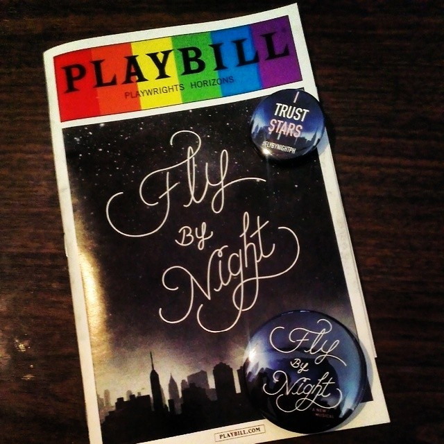 Had a superb time at #FlyByNightPH last night! It is a great new musical with wonderful acting and brilliant songs. Check it out if you can.