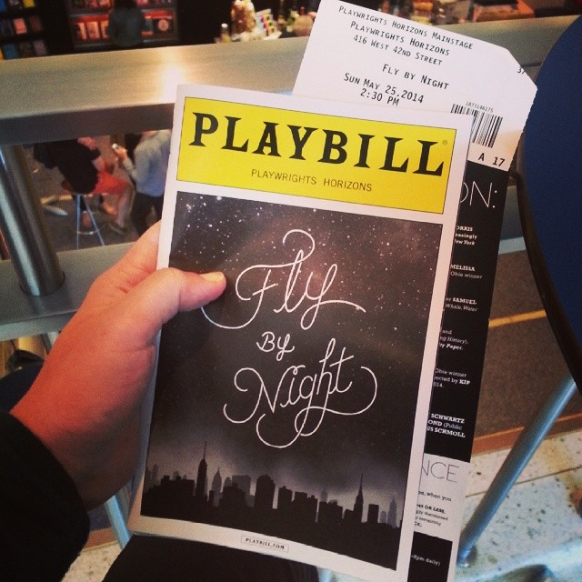 Today's impromptu #nycliving #nyctheater event c/o #flybynightPH ... See it. Seriously charming!