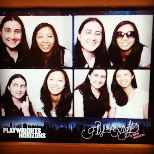 Poorly timed photobooth shenanigans. #flybynightph #photobooth #nyc