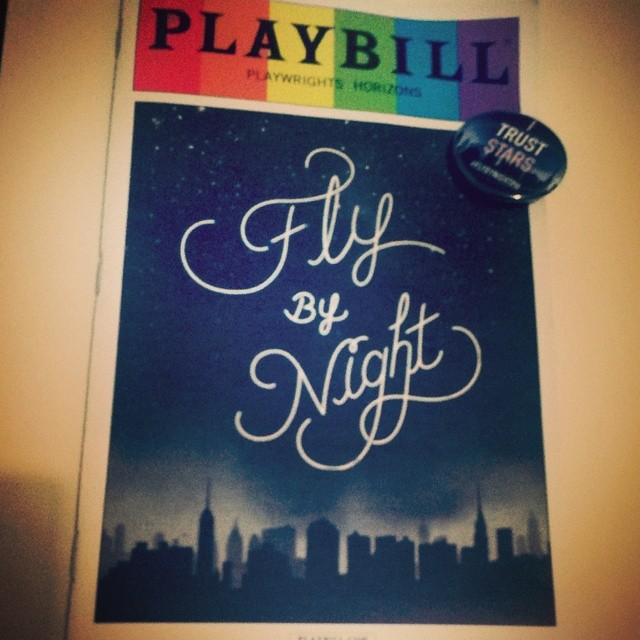 #FlyByNightPH so magical, wonderful, funny, sentimental. Made my heart swell. #itruststars