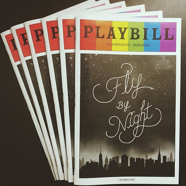 Now those are some good looking @playbill programs. #FlyByNightPH #playbillpride
