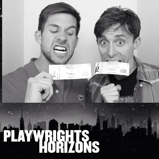 If you are in NYC, you MUST go see Fly By Night at Playwrights Horizons! It's SO GOOD! Amazing cast. Amazing show. Goosebumps. SEE THIS SHOW. #itruststars #flybynightph @playwrightshorizons  @kevincahoon