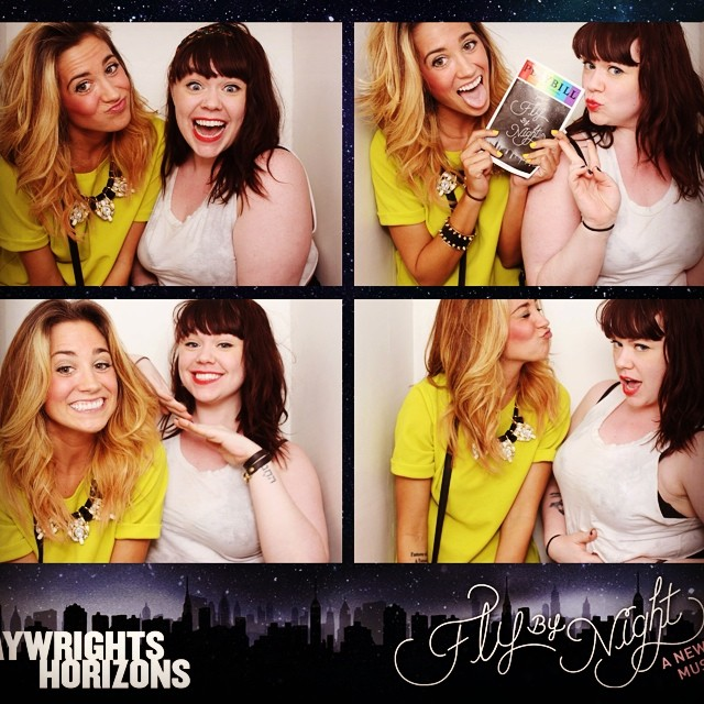 Sensible photobooth-at-intermission-action. No big. #flybynightph #putyoursassintheair #itslikebeautyintheugly