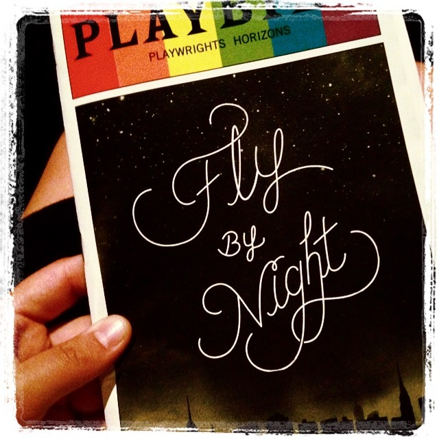 There used to be a girl like me who dared to chase her dreams... I TRUST STARS. @phnyc #flybynightph I can't believe I'm finally here.