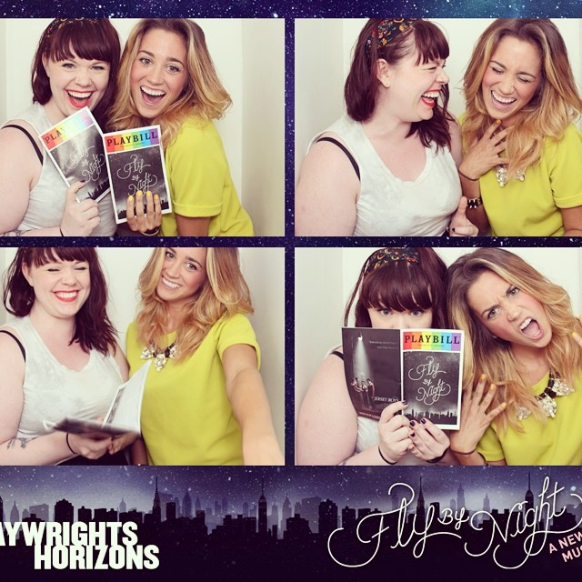 So. This happened last night. And this show was so freaking good it hurt. #flybynightph #sogood #iminaglasscaseofemotion #gigglefest #bffs #mylove #photobooth