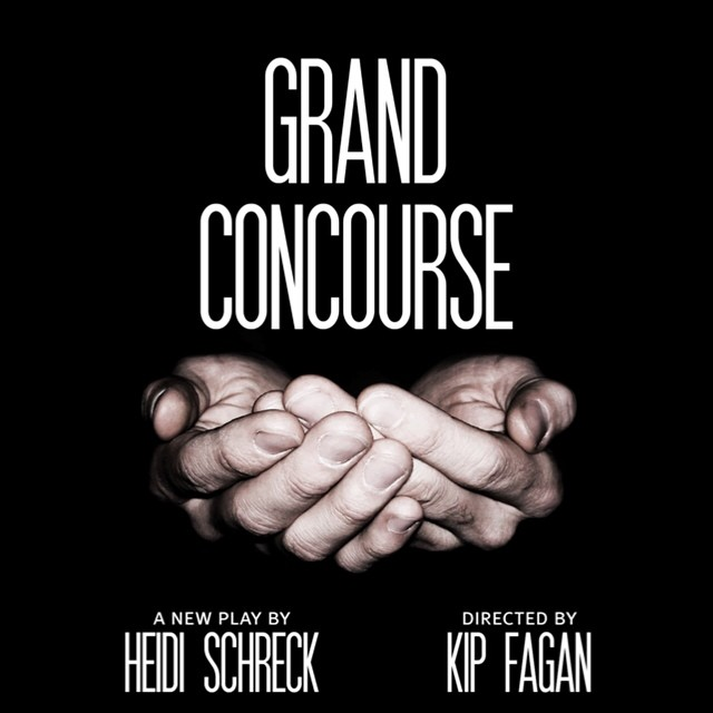 Artwork for our next production in the Peter Jay Sharp Theater, the world premiere of #GrandConcoursePH, written by @heidischreck and directed by @kipfagan.