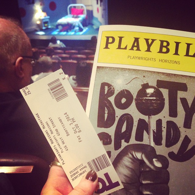 #bootycandy #nyc #theatre #datenight #greatnight #thanksbub!