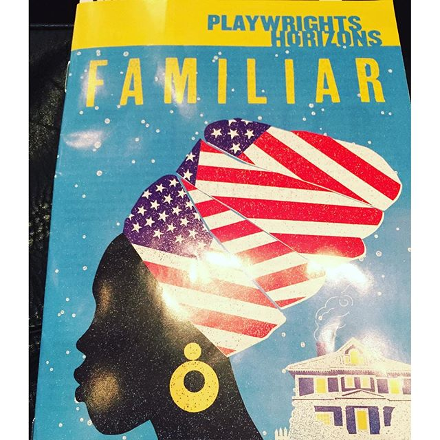 Everyone should go see this play, so good. 2 @danaigurira plays in a week! #blessed  #familiarph @phnyc #nyc #offbroadway