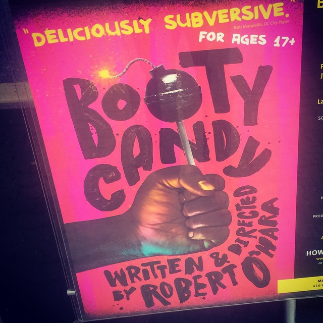 Don't ask. Just get here. #BootyCandy