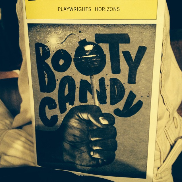 Get your booty to #playwrightshorizons to see #Bootycandy.  Great show!