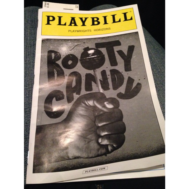I highly recommend seeing this show if you can! #bootycandy