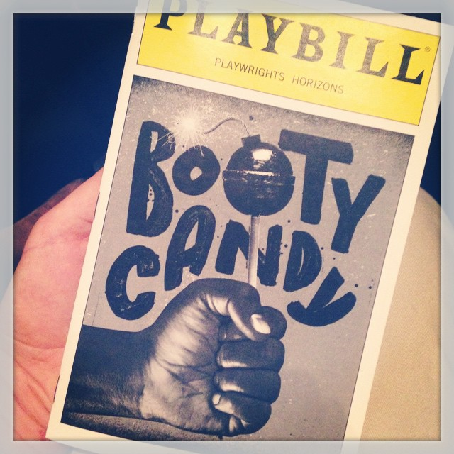 Booty Candy! #bootycandy #theater #playbill #playwrightshorizons #nyc @phnyc @lschreibs #offbroadway #broadway