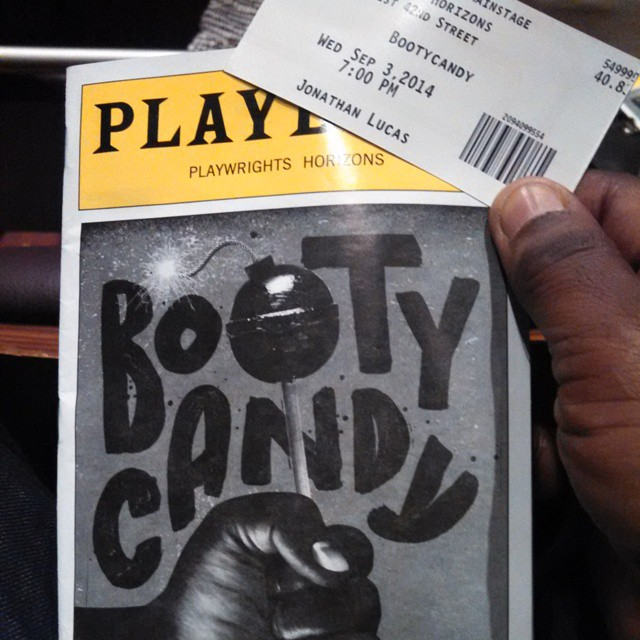 Just saw an over the top....wonderfully crazy and funny play #BootyCandy. You need to run to see this show before it's gone. #RobertOhara #BlackTheater