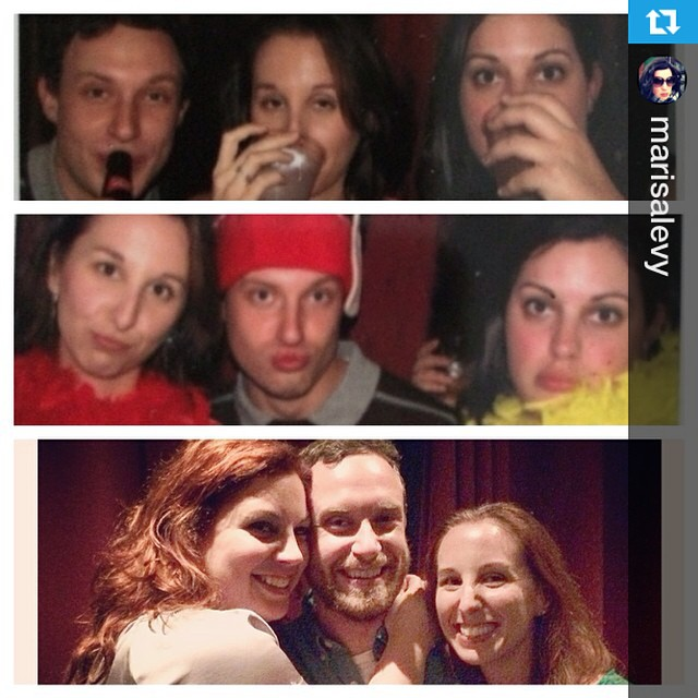 #Repost from @marisalevy\r#tbt to the Alley Holiday Party & #BootyCandy opening. 3 year reunion.