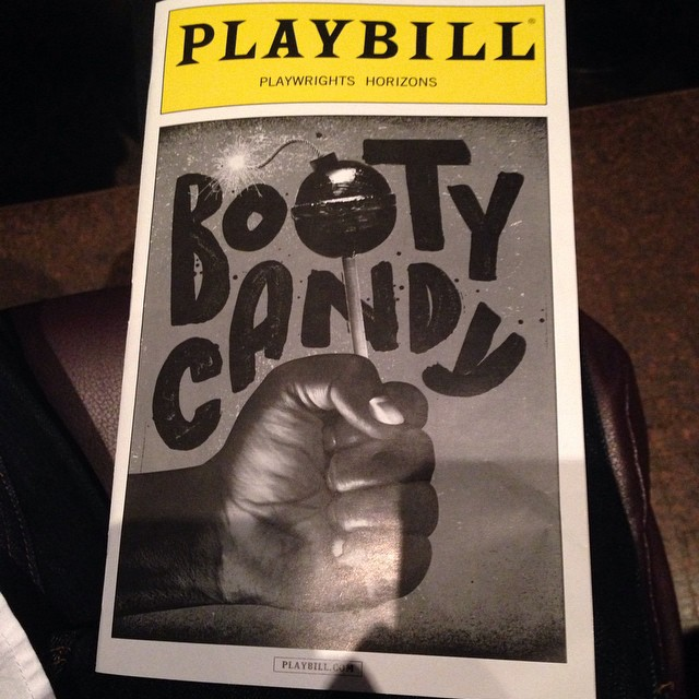 At the Playwrights Horizons theater to see Booty Candy I can't wait all the reviews said it was a great show #bootycandy #playwrightshorizonstheater #offbroadway #play #comedy #theaterdistrict #nyc #sundayfunday #matinee