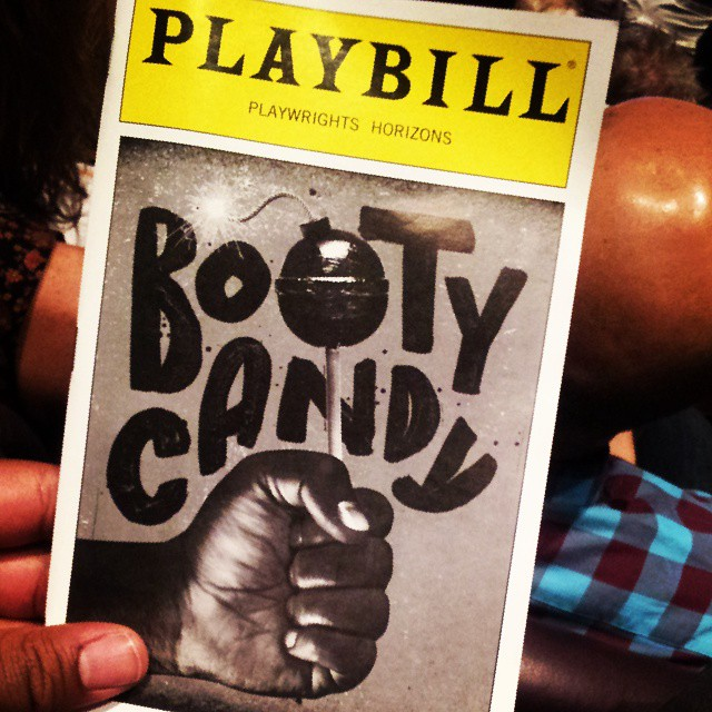 Tonights Show. #theatrethirsty #bootycandy