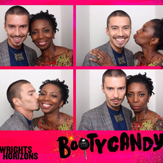 Fun in the photo booth at the Opening Night of #BOOTYCANDY\U0001f4a3 @phnyc