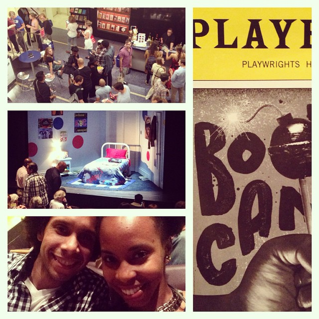 Time to see #BootyCandy! This play came HIGHLY recommended by @sydmosley & @kiryat #comedy