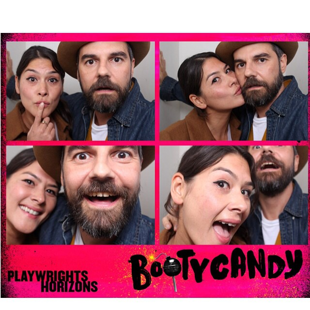 Had a blast last night at #bootycandy with @jeffshag !!Beyond proud of my college BFF Lance and Benja on their amazing performances!