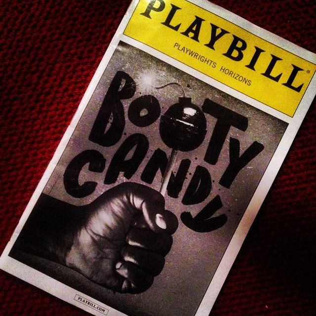 #BootyCandy. Forget LOL it's holler out loud funny. But pull back the skin for the serious story, it's all worth the lick.