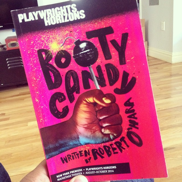 Go see #BOOTYCANDY and @jessicafrancesdukes is ABSOLUTELY BRILLIANT!!!!!!!