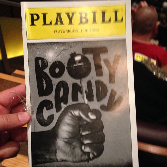 At #bootycandy. Thanks Henry Ravelo!
