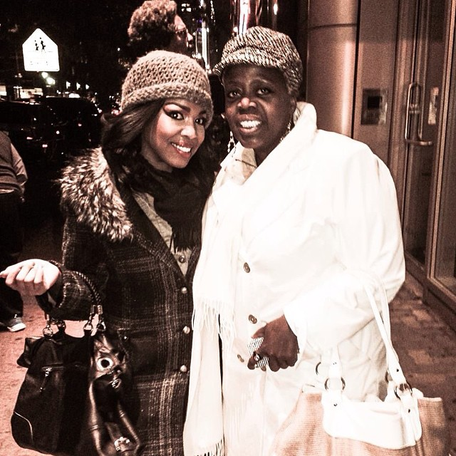 The Fabulous Lillias White Came to Booty Candy!!!! Thankyou Diva! #bootycandy