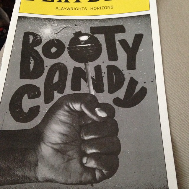 BOOTYCANDY at Playwrights Horizons Run to see it!! #play #bootycandy #playwrightshorizons#actors#lovedit