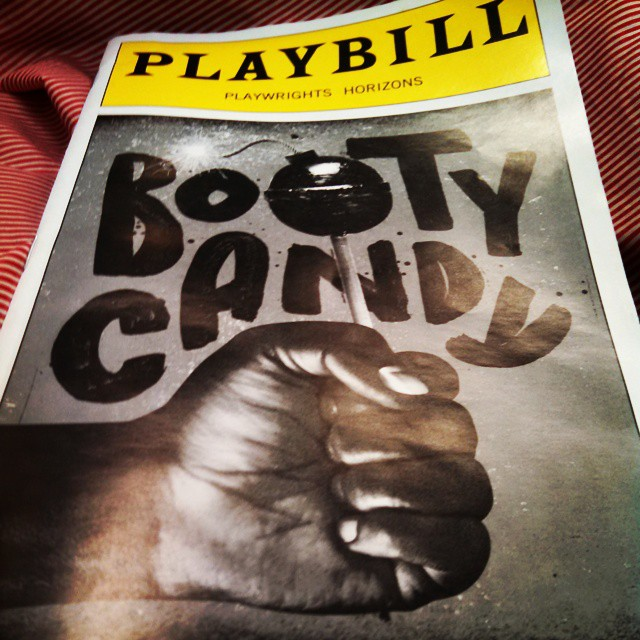 'plays that make you fall back in love with the theatre' for $1000. #bootycandy