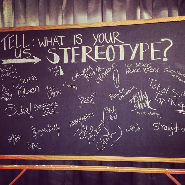 What is your stereotype?  #snobby #sonottho!