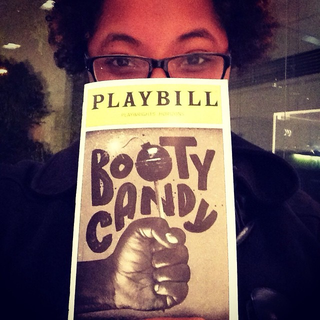 So far really funny! #bootycandy #theater #nyc #offbroadway #diversityonstage
