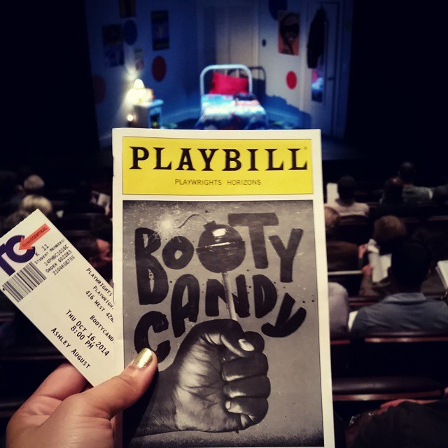 Ever feel like your life is about to change just by sitting in an audience? Word, me too. || Booty Candy at Playwrights Horizons, so excited ^.^ #Praiseallthisart #Mylifeisyourrecreation #BootyCandy