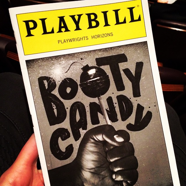 S/O to Joe Fernandez Jr.! #bootycandy #playwrightshorizons #frinightfun