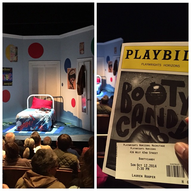 Go. see. Booty Candy. It's phenomenal. #bootycandy #plawrightshorizons #sundaymatinee #nyc