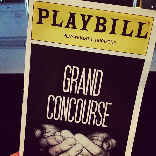 Being a Friday night #theatergeek with @iamawong! @PHNYC #GrandConcoursePH