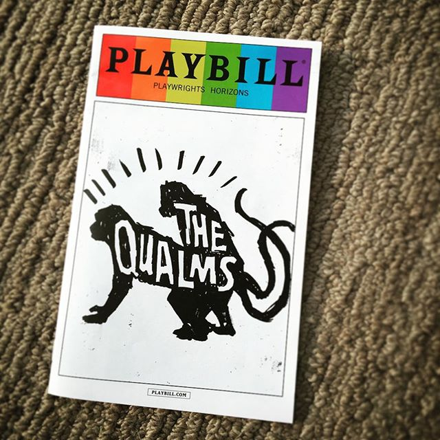 You throw someone into a situation they don't know how to handle and problems result. #TheQualms #offBroadway #play #playwrightshorizons #playbill #BruceNorris