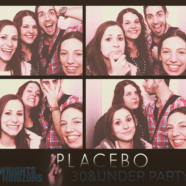 Such friendship in the world of under 30s theatre! #PlaceboPH