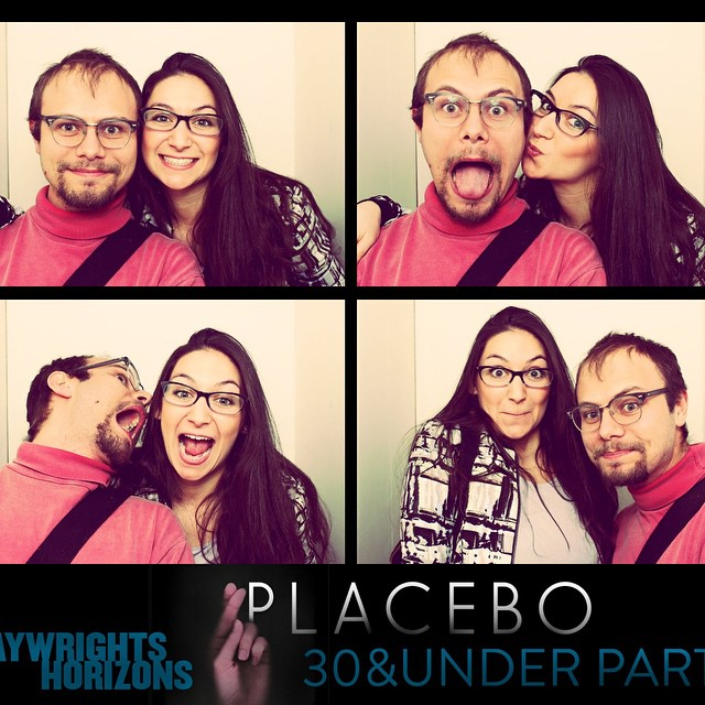 Playwrights Horizons party numero trois with @julianfri #PlaceboPH