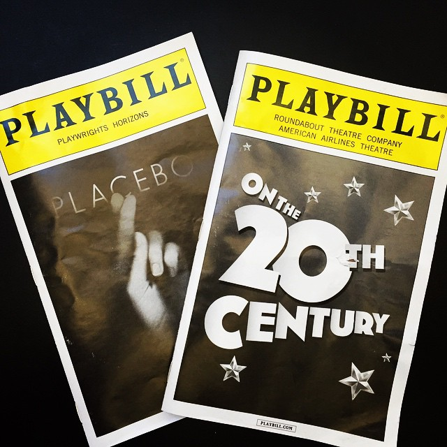 #Broadway #Theater is the only reason to ever go near #TimesSquare ! @rtc_nyc  @phnyc #placeboPH #onthe20thcentury #arts #theatermaniagoldclub #hiptix